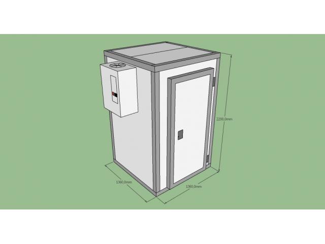 Холодильная камера кхн-2,94 (1360х1360х2200) - 1