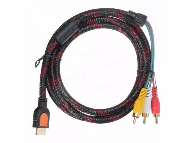 Кабель HDMI на 3 RCA - 1
