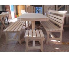 Мебель для бани и дома из липы