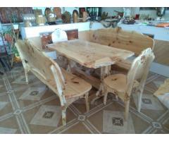Мебель из горного тополя