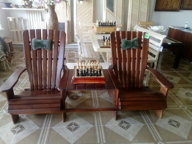 Кресло двойное со столиком - 1