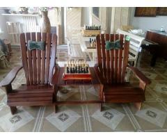 Кресло двойное со столиком