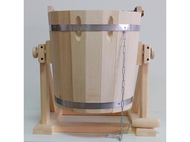 Обливное устройство для бани из кавказской липы - 1