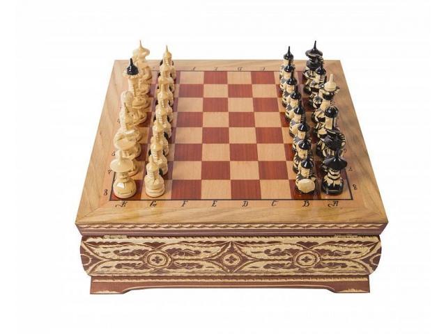 Шахматы резные - 1
