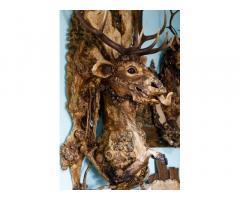 Оригинальное панно ручной работы Лесной олень
