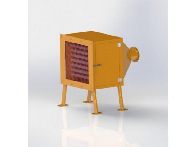 Канальный нагреватель PZO-46KE - 1
