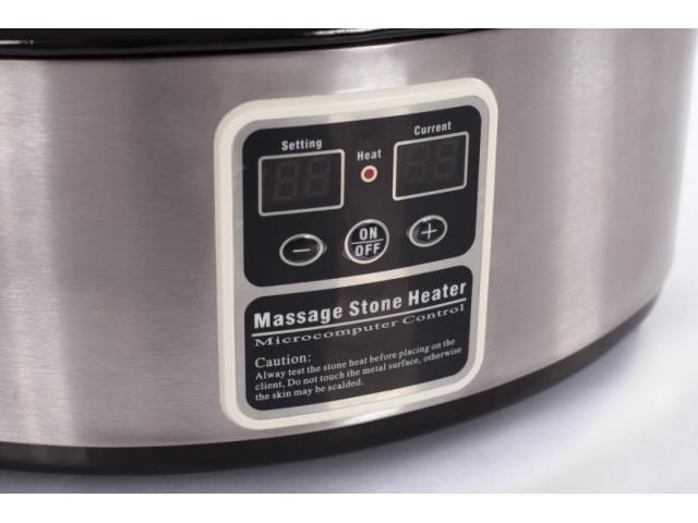 Овальный нагреватель для массажных камней 6 л - 2