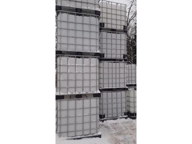 Бочки металлические 216,5л, евро-кубы Б/У. - 2