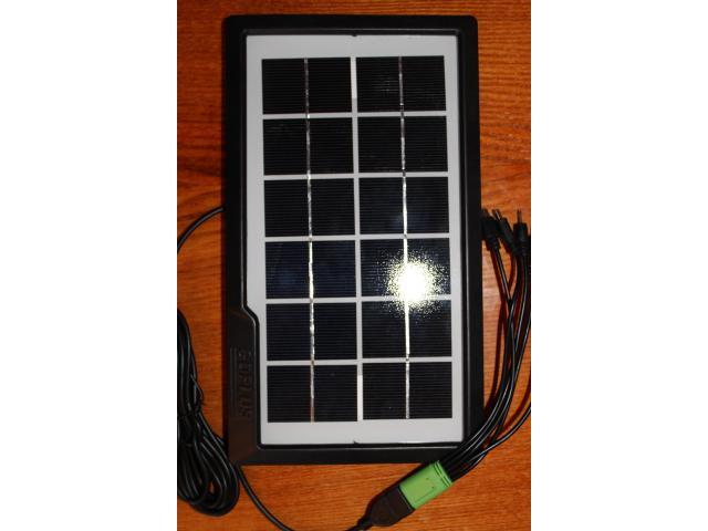 Зарядное устройство (солнечная панель) - 1