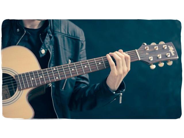 Реальное обучение игре на гитаре, уроки гитары - 1